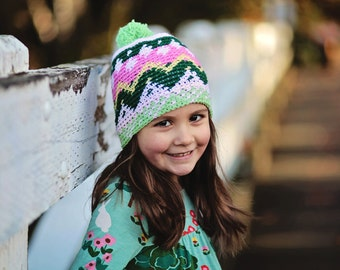 Instant PDF Download, Matilda Hat, Crochet Pattern