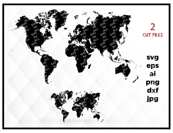 World map svg clipart silhouette world map vector digital download world map svg clipart silhouette world map vector digital download svg world svg map svg map png world png world clipart map dxf from mistercut on gumiabroncs Image collections