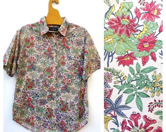 Liberty of London Cacharel Short Sleeved French Summer Blouse