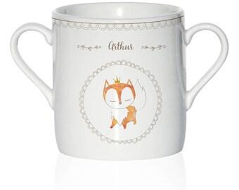 Custom child porcelain - model Fox mug