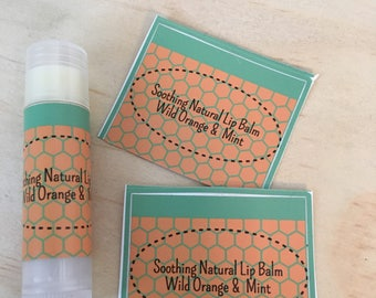 Soothing and Natural Lip Balm