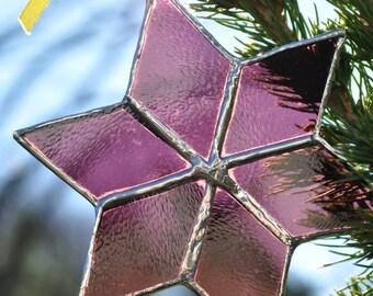 star ornament (wine) christmas