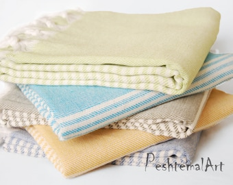 Turkish Towel, Peshtemal Beach Towel, Stripe Peshtemal, Turkish Bath Towel, bridesmaid gifts, Wholesale Towel, Turkish Towels, Fouta, icz