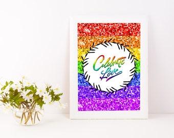 Celebrate Love Poster