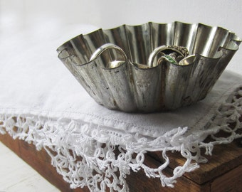Ring Dish - ONE Vintage Tart Pan - Add on Item - Quantities Available