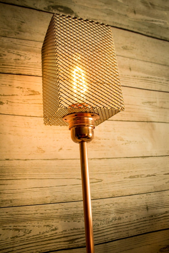 brilliant copper industrial not fl light pipe included lamp floor modern globe inspired cop by douglas