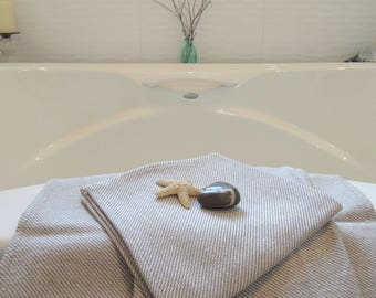 Pure Linen Wash Cloths, Face Cloth, Cleansing, Bathroom, Kitchen, 13x13, Spa