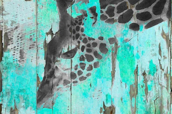 Safari Moon. Canvas Print by Irena Orlov 24x36""