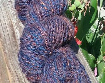 Handspun worsted weight yarn