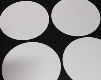 Precut circles (55 circles) | Circles 2.5 inch | Craft Supply | Cardstock Circles | 2.5 inch Cardstock Circles | Garland Supplies