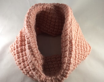 Hand Knit Cowl, Chunky Cowl Scarf Handmade, Cowl Scarf Knit, Infinity Scarf, Women's Scarves, Neck Scarf