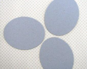 Chipboard Oval Shapes - Easter Egg