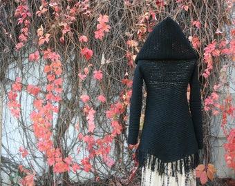 Zarya Poncho Sweater