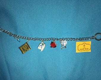 Once Upon A Time - Rumbelle inspired Charm Bracelet