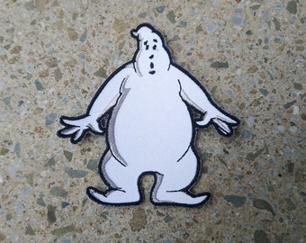 Real Ghostbusters Ghost Embroidered Patch