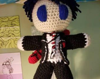 Rin okumura crochet doll