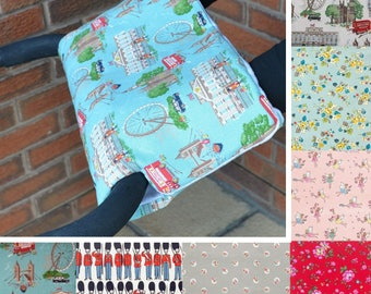 Cath Kidston Fabric Pushchair / Stroller Fleece Lined Hand Muff