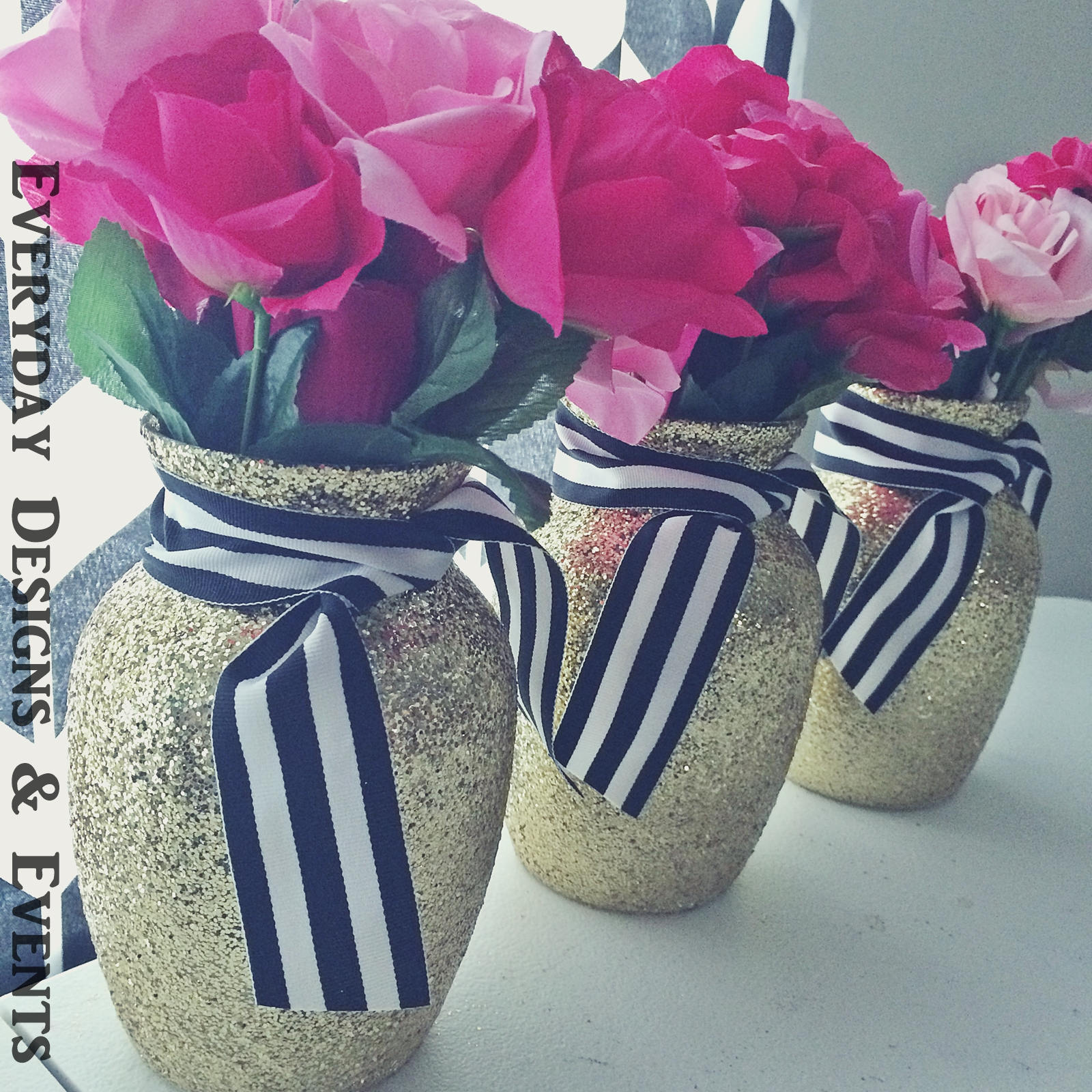 3 gold black and white vases bridal shower baby shower zoom reviewsmspy