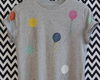 T-SHIRT of balloons organic fair wear bio