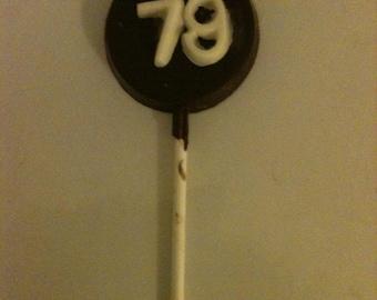Number lollypop