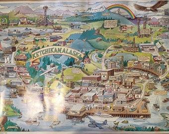 Alaska pictorial maps