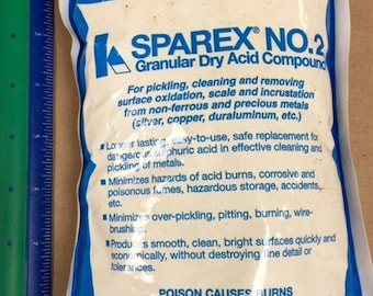 SPAREX Pickle for cleaning metal 10 oz bag