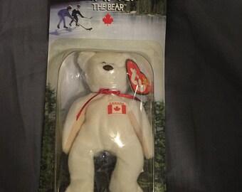 Beanie Baby Maple the Canadian Bear