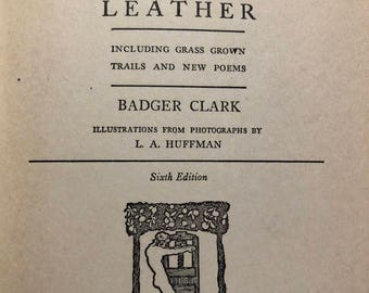 Sun and Saddle Leather by Badger Clark