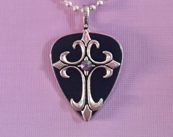 "Guitar Pick Necklace "" Thunder Road"""
