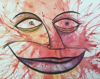 Fun whimsical Smiley Face