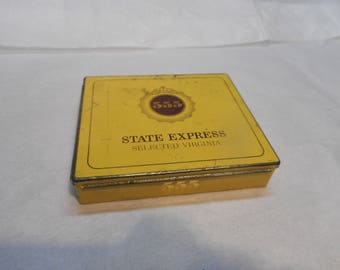 State Express 555 Selected Virginia Cigarette Tin, Ardath Tobacco Company, London