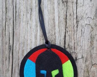 Spartan Trifecta holiday ornament
