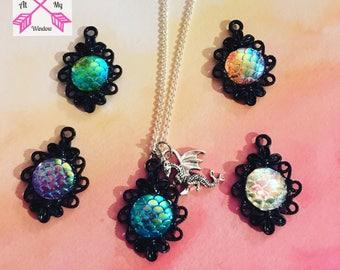 Dragon scale necklace, Dragon Scale Pendant, Dragon necklace, Dragon Pendant, Dragon Jewellery,