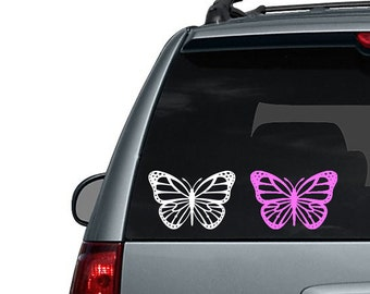 Monarch Butterfly - Car Decal or Computer Decal Sticker