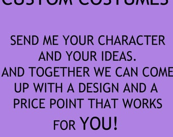 Custom Costumes: Your character, your way
