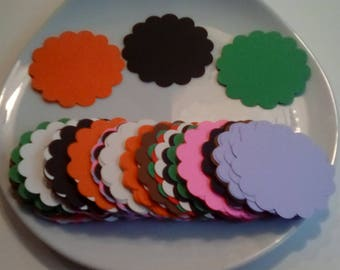 Scalloped Circle Paper Cut Punches