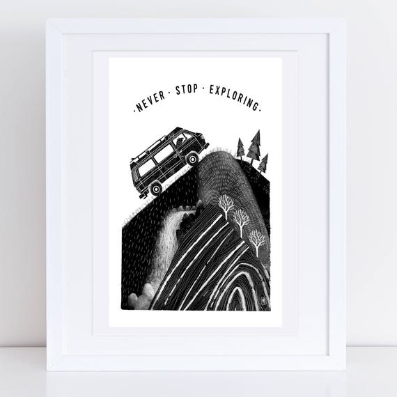 Mountain Van Bear - Signed print