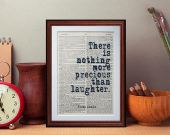 Frida Kahlo quote  - dictionary page art print home decor present gift home decor