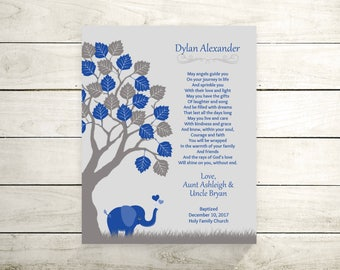 Baby Boy Dedication | Godson Card | Godson Baptism Gift | Baby Personalized Boy | Godson Gift - 56777