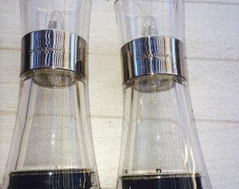 Modern Acrylic Cole & Mason Salt and Pepper Set