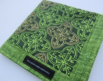 EDC Hank Celtic Knot St Patricks Day Holiday Hank Handmade Hank Everyday Carry Irish Hank Mens Handkerchief Gift for Him Gift for Her