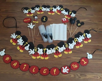 Mickey Mouse Party Set!