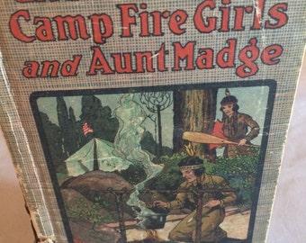 Vintage Books, Books music Movies,The Campfire Girls and Aunt Madge, Books, Music, Movies.Home and Living, Vintage Books