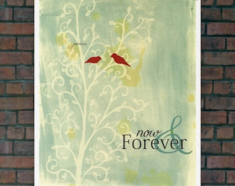 Promise 2.0 // Personalized Wedding, Customized Art, Digital Print, Typographic Print, Romantic, Anniversary, Valentines
