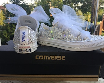Swarovski Crystal Converse