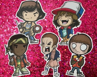 Stranger Things Season 1 Stickers (Set of 5)
