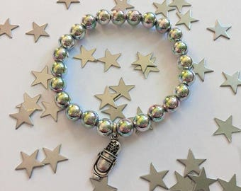 Bracelet, Microphone, Music Gift, Singing, Voice, Karaoke, Jewellery, Gift.