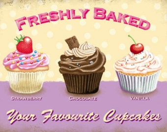 Your Favourite Cupcakes - Cross stitch pattern pdf format