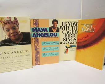 Maya Angelou Books And Poetry Collection on cassettes