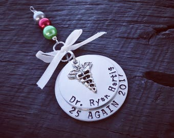 Doctor's Christmas Ornament   Medical Ornament   Gift For Doctor   Medical School Graduation Gift   New Doctor Gift   MD Ornament   Keepsake